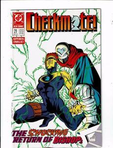 9 Checkmate DC Comic Books # 21 22 23 24 25 26 30 31 32 Batman Superman J212