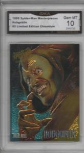 1995 Spider-man Masterpieces Julie Bell Hobgoblin Chromium Graded 10