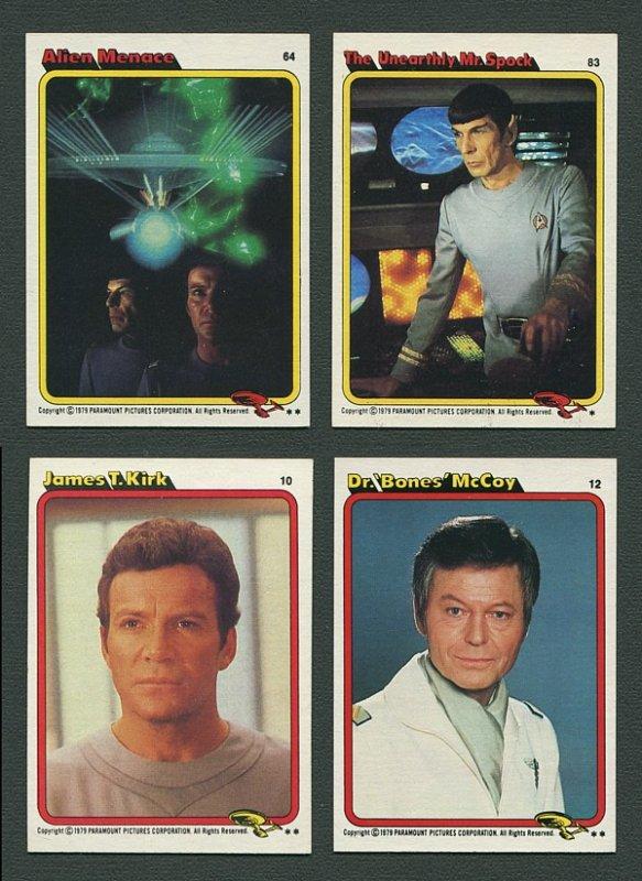 1979 Topps Star Trek : The Motion Picture Set NM