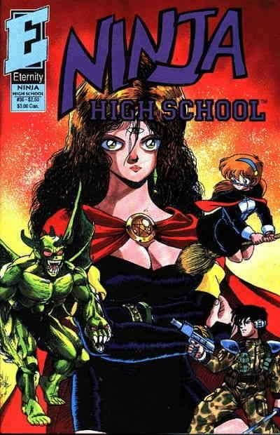 Ninja High School #36 VF/NM; Malibu | save on shipping - details inside