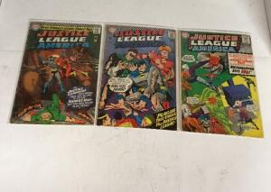 Justice League Of America 42 44 45 46 47 49 50 Gd-Vg Good-Very Good 2.0-4.0