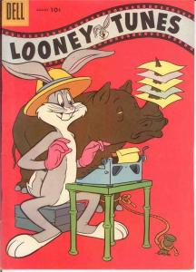 LOONEY TUNES 190 VF   August 1957 BUGS BUNNY COMICS BOOK