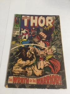 Thor 152 Vg Very Good 4.0 Water Spots Marvel Comics Silver Age