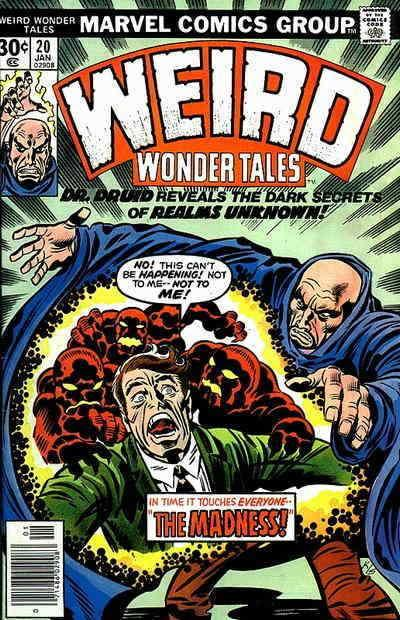 Weird Wonder Tales #20 FN; Marvel | save on shipping - details inside