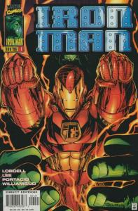 Iron Man (2nd Series) #1A VF/NM; Marvel | save on shipping - details inside