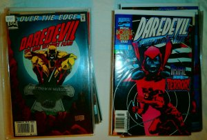 Daredevil #344-379 (missing 11) DeMatteis Garney Elektra Saga, comics lot of 39