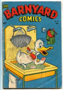 Barnyard Comics #30 1950- Dizzy Duck- VG