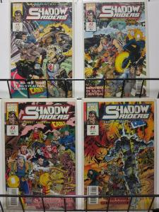 SHADOW RIDERS (1993 MARVEL UK) 1-4, Cable, Ghost Rider