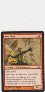 Magic the Gathering: Dragon Maze - Riot Piker