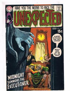 Unexpected # 117 FRONT COVER ONLY Great For Framing DC Comic Book Horror S73