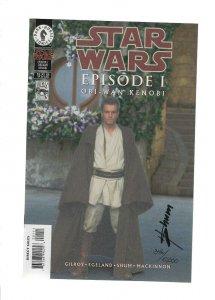 Star Wars Episode 1 Glow in the Dark SIgned by Howard Shum W/COA