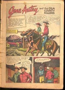 GENE AUTRY COMICS #11 & #12-BARGAIN LOT-1948 P/FR