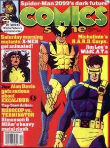 Comics Scene (Vol. 2) #30 FN; Starlog | save on shipping - details inside