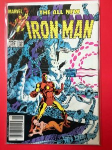 THE ALL NEW IRON MAN V1 #176 1983 MARVEL / NEWSSTAND / MID-GRADE QUALITY+