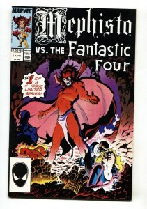 Mephisto vs. The Fantastic Four #1 1987 comic book first issue
