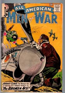 ALL AMERICAN MEN OF WAR #87-1961-WWII-DC-SILVER AGE-Johnny Cloud FR/G