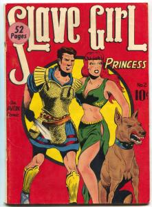Slave Girl Comics #2 1949- Avon Golden Age- Spicy Good Girl art G/VG