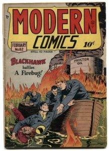 Modern Comics #82 1949- BLACKHAWK- Torchy by Bill Ward VG+