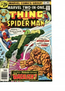Marvel Two-In-One 17 VG  Spider-Man