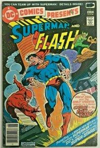 DC COMICS PRESENTS#1 VG/FN 1978 SUPERMAN BRONZE AGE COMICS