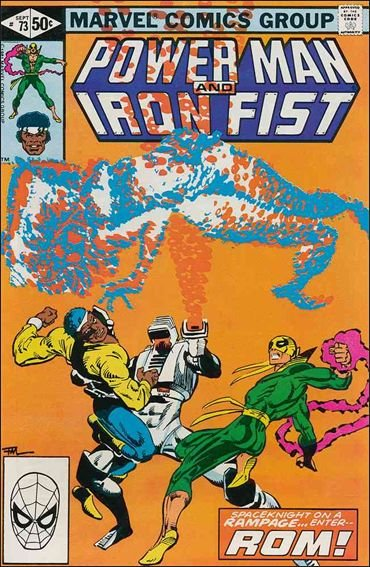Marvel POWER MAN AND IRON FIST (1978 Series) #73 FN+