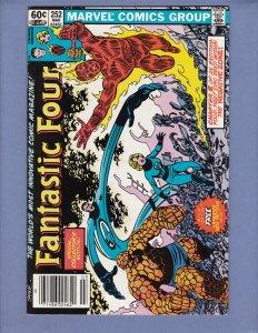 Fantastic Four #252 NM- Marvel 1983