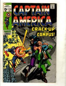 Captain America # 120 VG/FN Marvel Comic Book Avengers Hulk Thor Iron Man GK2