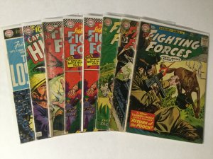 Our Fighting Forces 58 63 78 98 101 105 123 Lot Good-very Good First Losers Dc