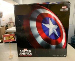 Marvel Legends Captain America Shield Avengers 1:1 Scale Hasbro Damaged Box