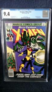 X-Men, 143, cgc 9.4, white pages