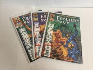 Fantastic Four Fireworks 1-3 Lot Set Run Nm Near Mint Marvel Remix