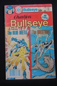 Charlton Bullseye featuring Blue Beetle, The Question, #1, Rare!