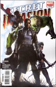 Marvel SECRET INVASION #4a VF