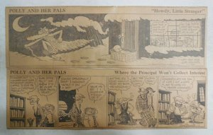 (310) Polly and Her Pals Dailies Cliff Sterrett from 1930  Size: 4 x 12 inches