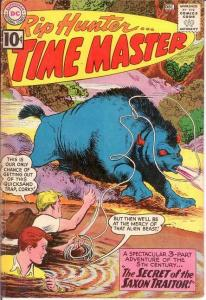 RIP HUNTER TIME MASTER 5 VG+ LAST 10 CENT ISSUE COMICS BOOK