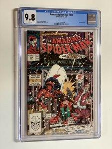 Amazing Spider-man 314 Cgc 9.8 Wp Marvel Copper Age