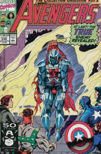 Avengers, The #338 VF/NM; Marvel   save on shipping - details inside