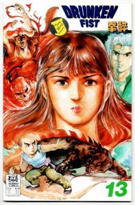 Drunken Fist #13 (Jademan, 1989) VF-
