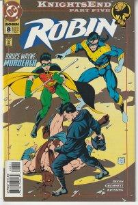 Robin(vol. 1) # 8 Knights End Part 5 - Bruce Wayne - Killer ?