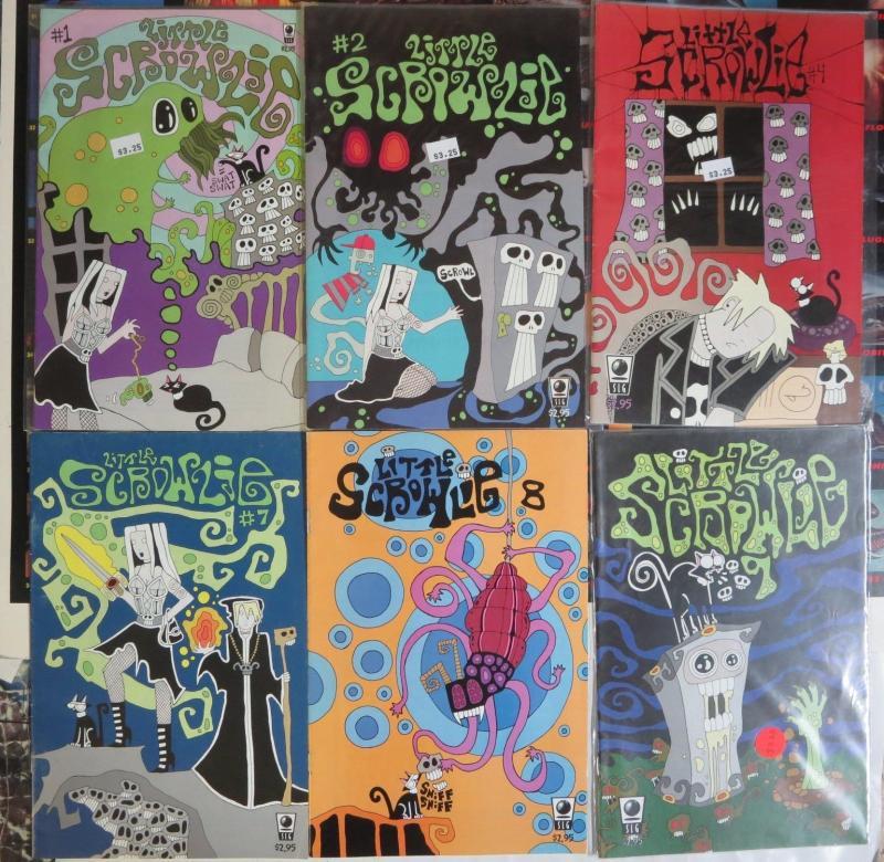 Little Scrowlie (SLG 2003) #1, 2, 4, 7, 8, 9 Todd Meister Jennifer Feinberg