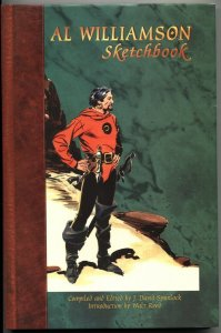 AL WILLIAMSON SKETCHBOOK-AUTOGRAPHED-LIMITED 322/600-1998-HIGH GRADE