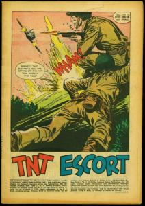Our Fighting Forces #27 1957- DC Silver Age War- Mort Drucker Reading Copy