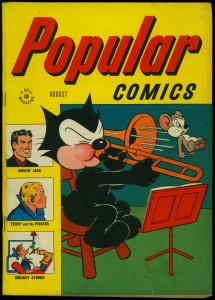 Popular Comics #126 1946- Felix the Cat- Terry & the Pirates- Dell FN