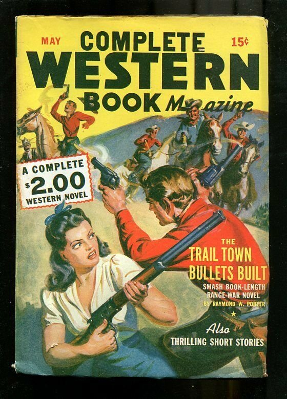 COMPLETE WESTERN PULP-5/1943-WAYNE OVERHOLSER-SAUNDERS  FN