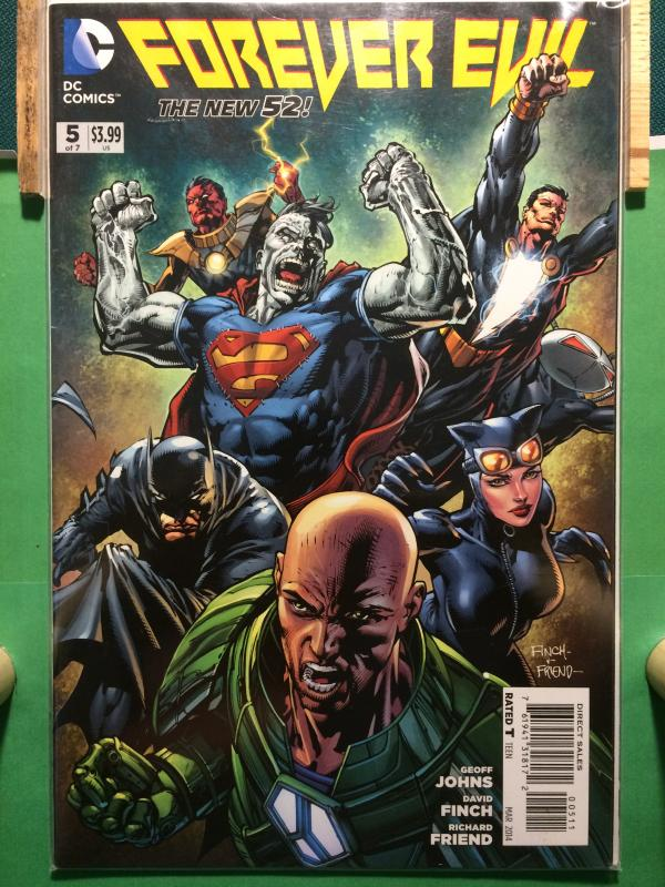 Forever Evil #5 of 7 The New 52