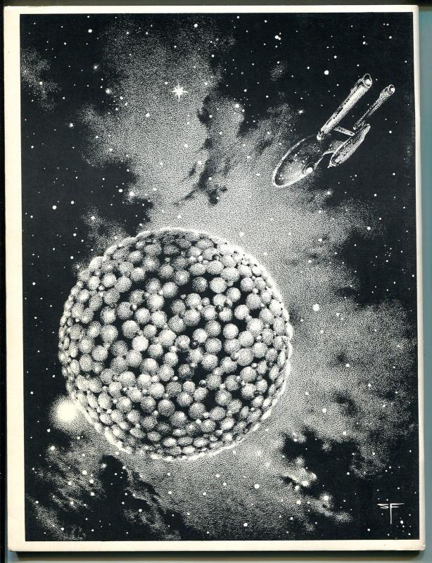 Rocket's Blast & Comic Collector #118 1975-original fanzine-Star Trek Special-VF