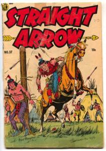 Straight Arrow #37 1954- Golden Age Western FR