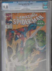 Amazing Spider-Man CGC #381 (Sep-93) NM+ High-Grade Spider-Man