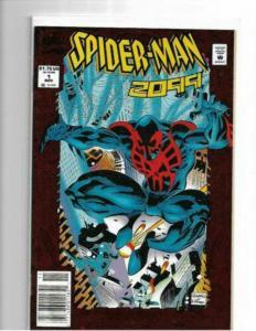 SPIDER-MAN 2099 #1 - NM/NM+ - NEWSTAND VARIANT - ORIGIN - HIGH GRADE COPPER KEY