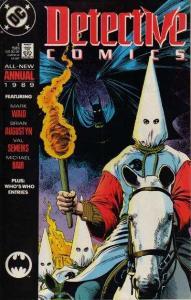 Detective Comics (1937 series) Annual #2, VF (Stock photo)